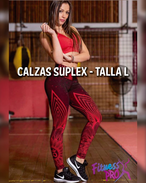 Calzas Suplex Fitness Pro - Talla L - 2020