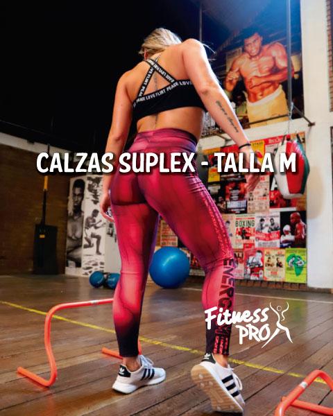 Calzas Suplex Fitness Pro - Talla M - 2020